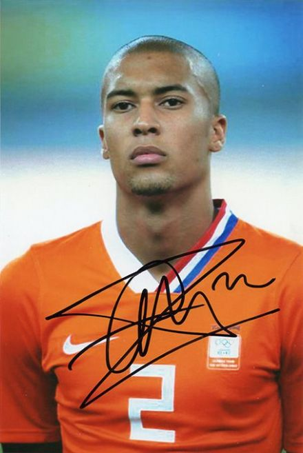 Gianni Zuiverloon, Holland 2008 Olympics team, signed 6x4 inch photo.